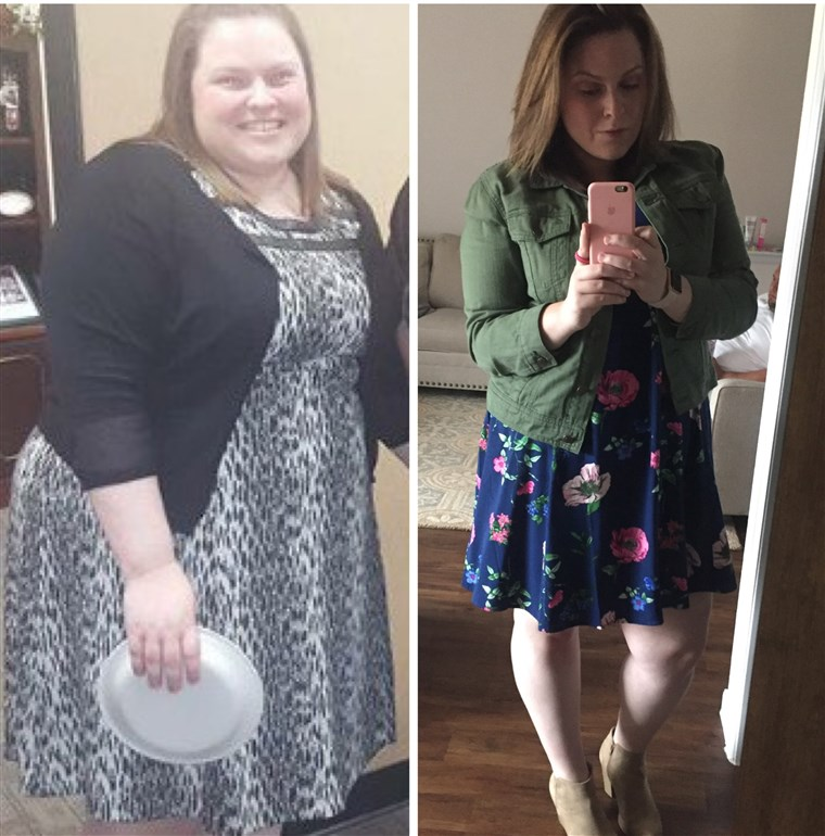 Desde a 2016, Anja Taylor has been exercising and eating healthy foods. She's lost 103 pounds and feels happy with how she looks.