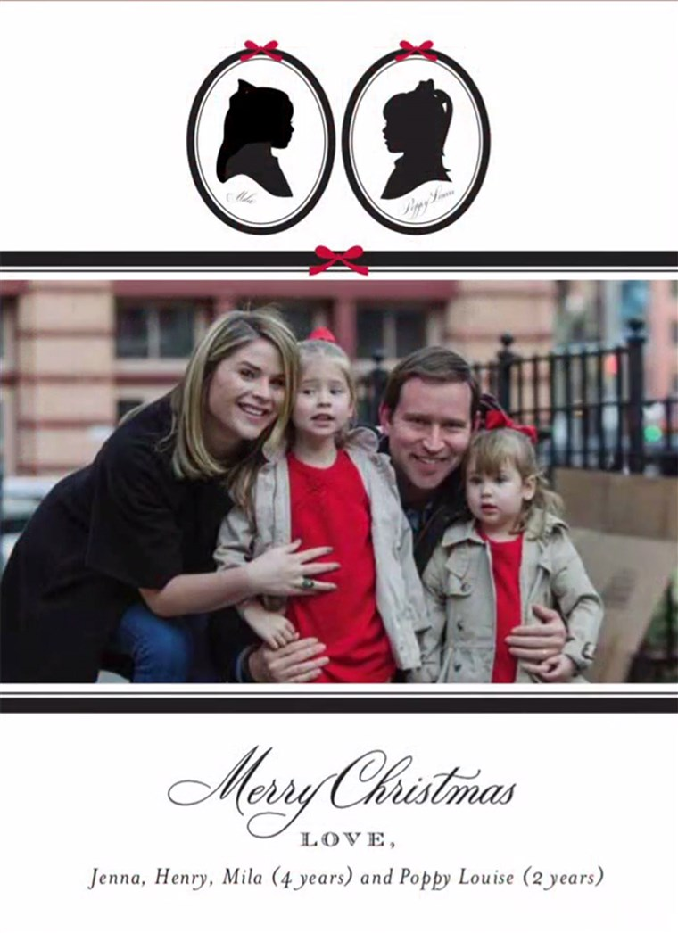 Jenna Bush Hager reveals her family's 2017 Christmas card