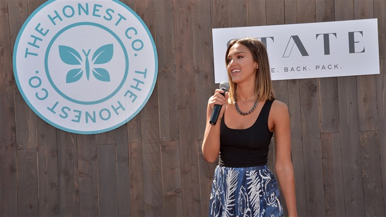 De Honest Company's co-founder, Jessica Alba