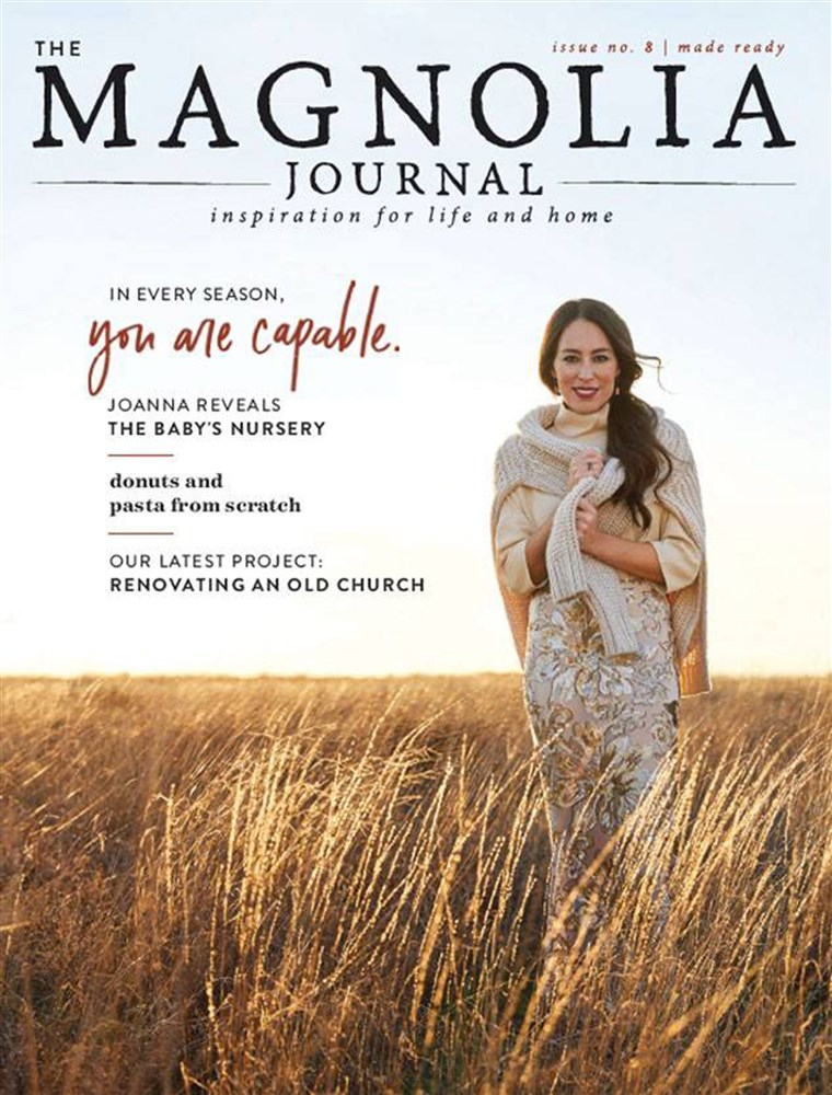 De Magnolia Journal fall issue with Joanna Gaines