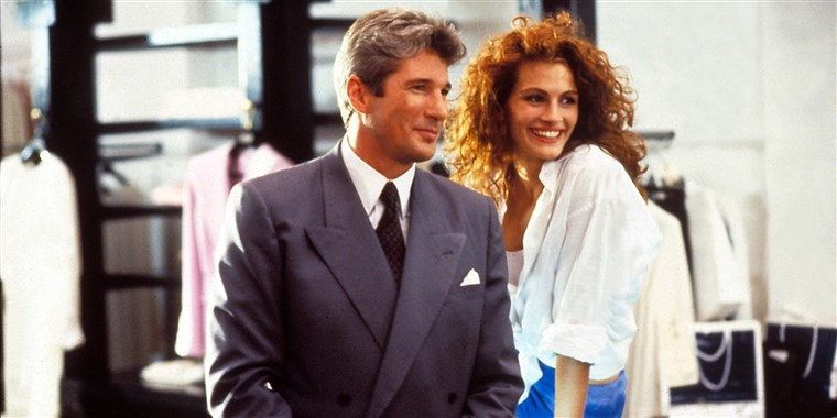 Julia Roberts and Richard Gere in