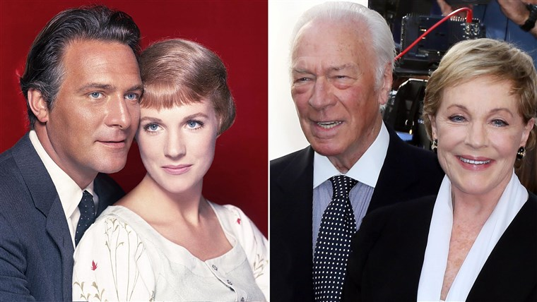Christopher Plummer and Julie Andrews in
