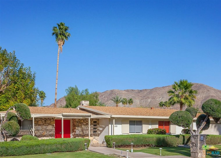 Walt Disney's Palm Springs home