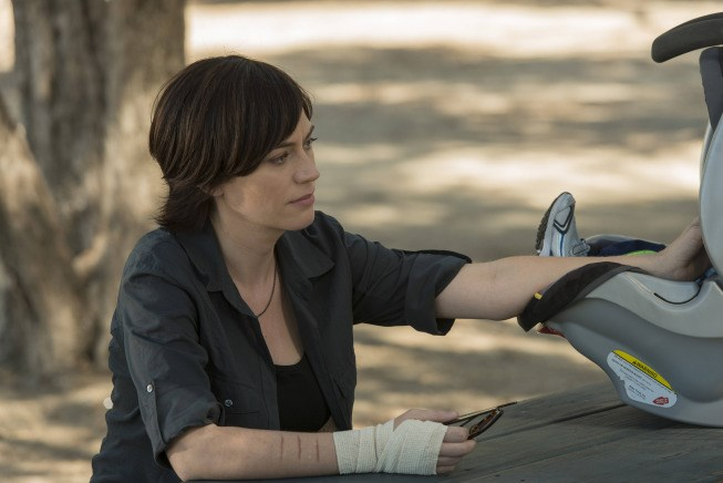 Maggie Siff plays Tara Knowles on