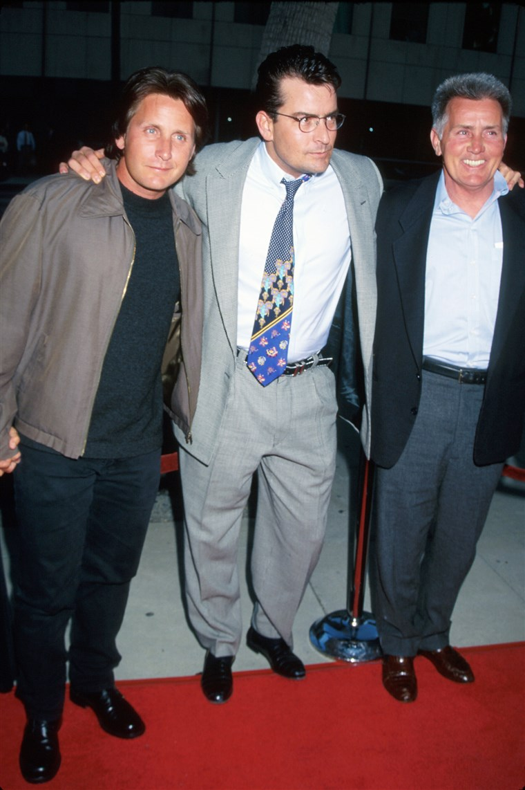 Martin Sheen [& Family];Charlie Sheen;Emilio Estevez