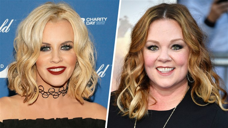 Melissa McCarthy and Jenny McCarthy