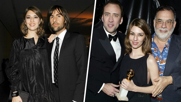 Sófia Coppola, Jason Schwartzman, Nicolas Cage and Francis Ford Coppola