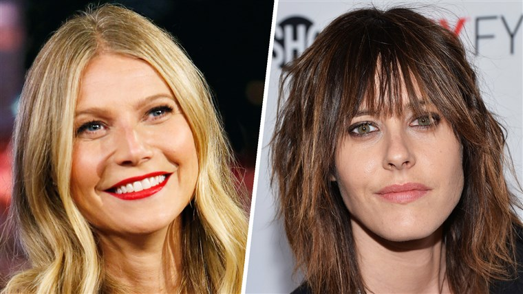 Gwyneth Paltrow and Kate Moennig