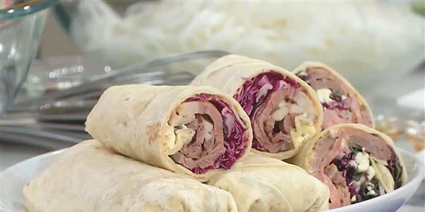 Tortilha Wraps with Chipotle Mayonnaise