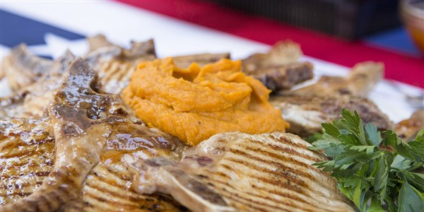 Zonnig Anderson's Simple Roasted Sweet Potato Mash