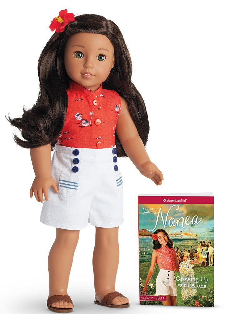 Amerika Girl's latest doll, Nanea, was released in stores and online on August 21, 2017.