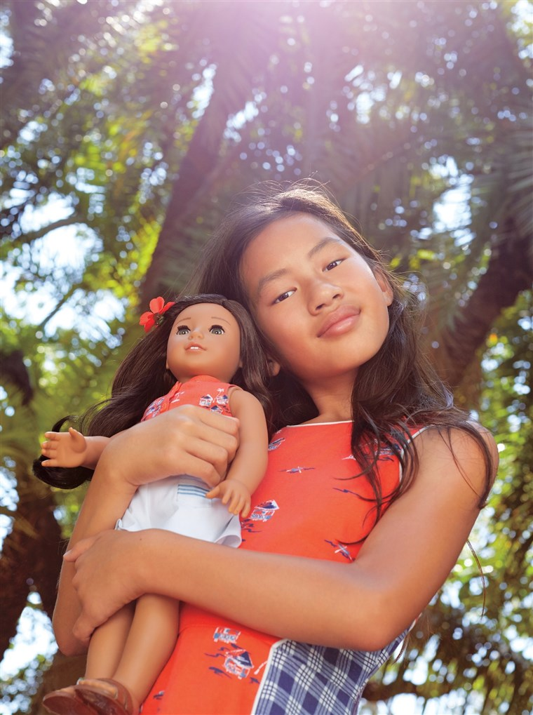 Nanea's story is told over a series of three books, available through American Girl.