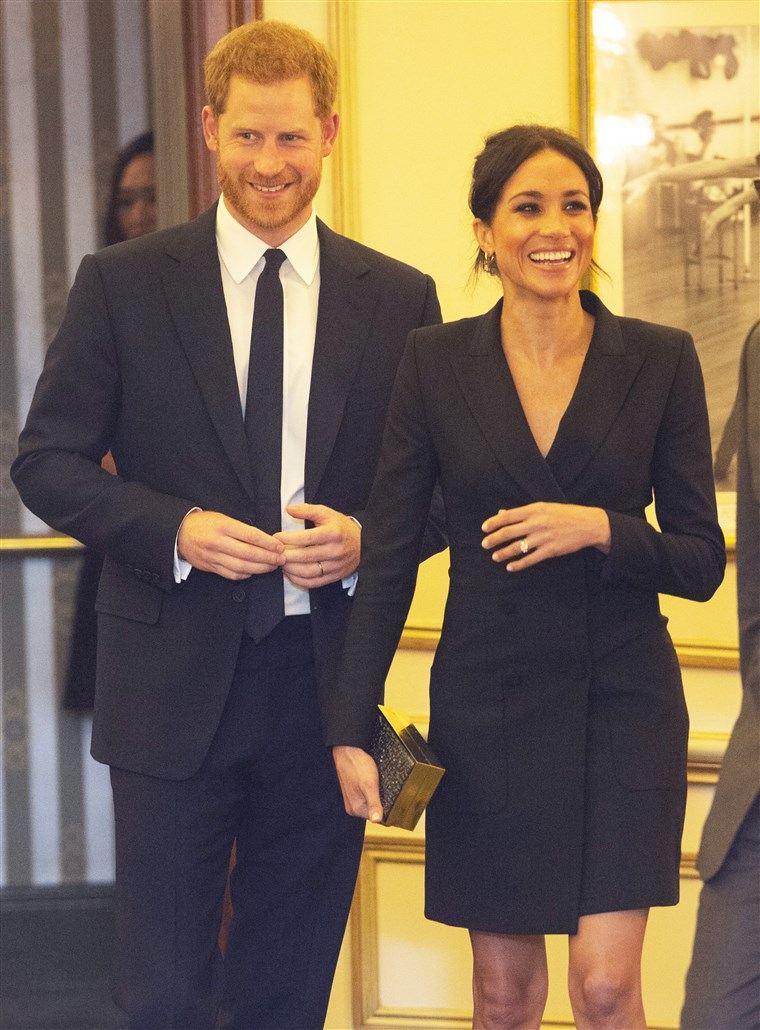 De Duke & Duchess Of Sussex Attend A Gala Performance Of