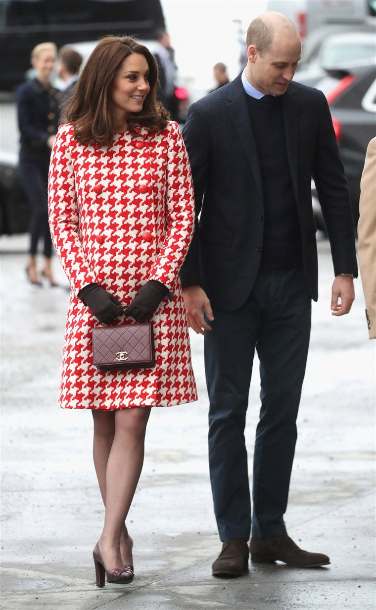 Image: The Duke And Duchess Of Cambridge Visit Sweden And Norway - Day 2