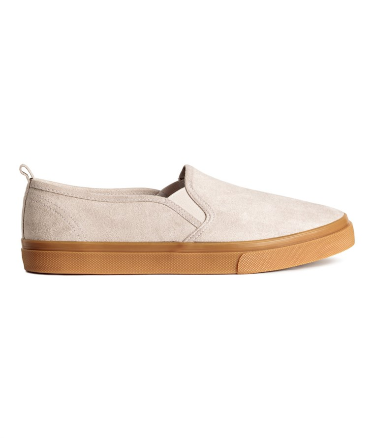 H & M slip on sneakers
