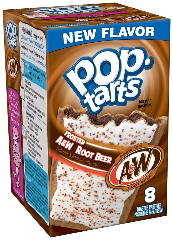 Frosted A W Root Beer Pop-Tarts