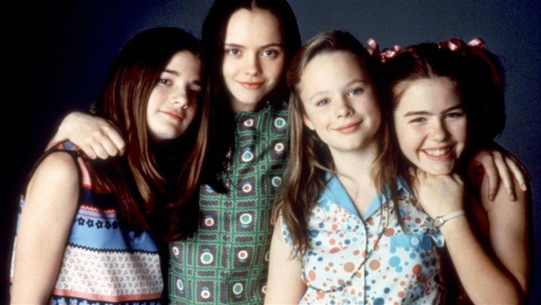 TERAZ AND THEN, Gaby Hoffmann, Christina Ricci, Thora Birch, Ashleigh Aston Moore, 1995. (c)New Line C