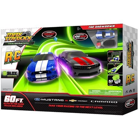 Max Traxxx Tracer Racer RC The Showdown