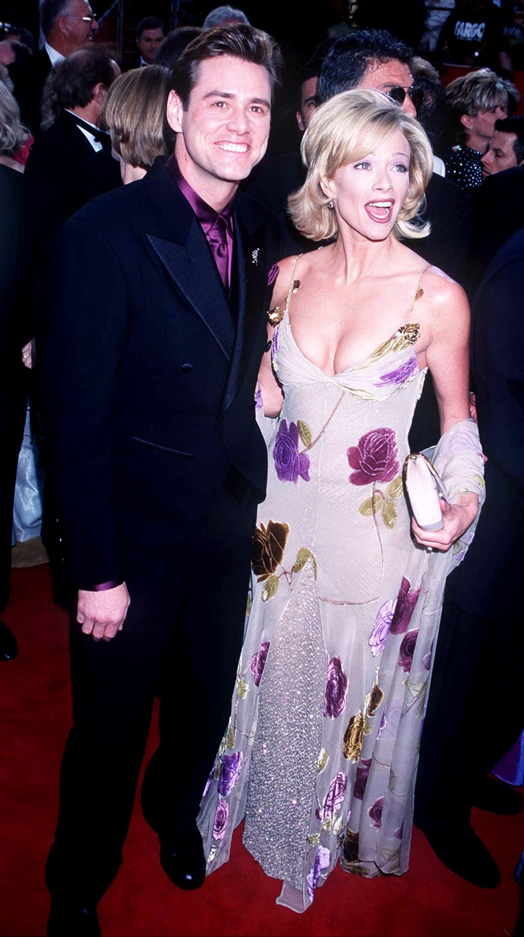 Jim Carrey and Lauren Holly