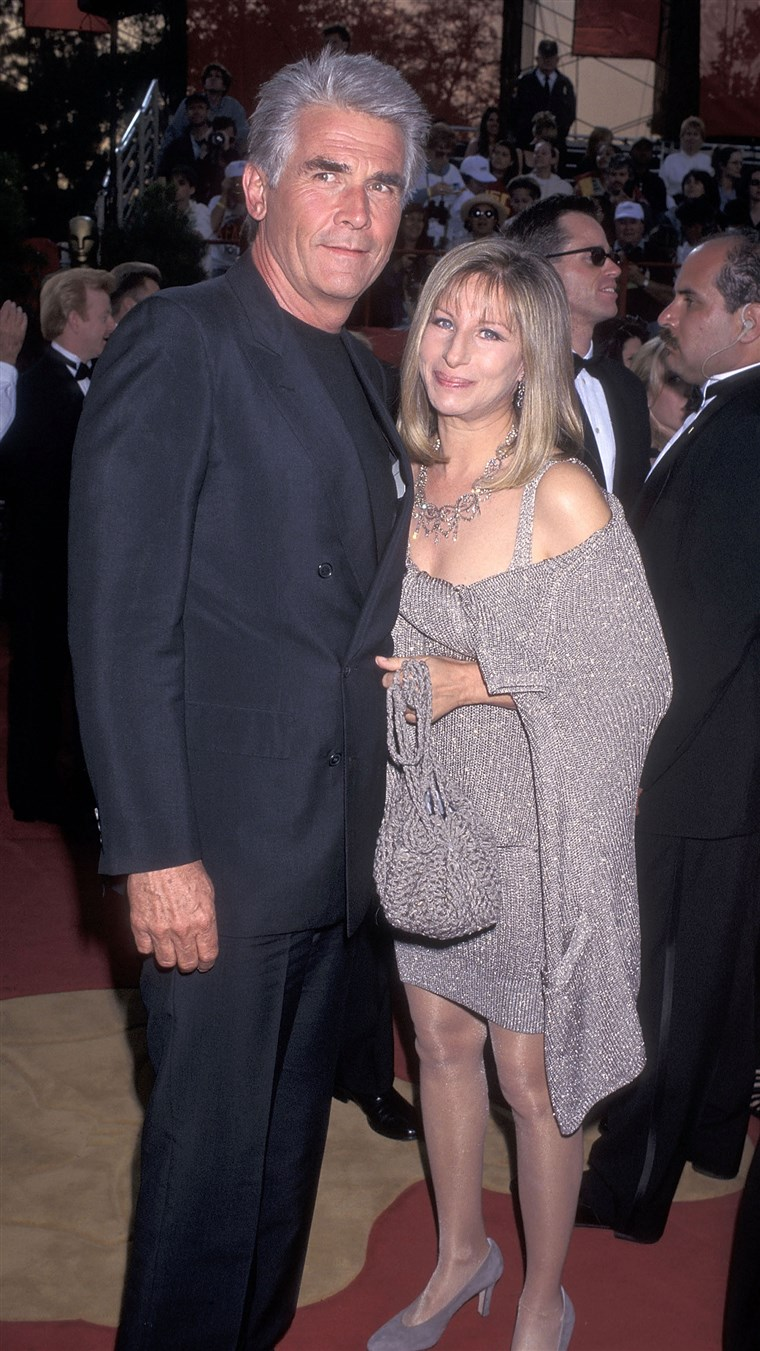 James Brolin and actress/singer Barbra Streisand