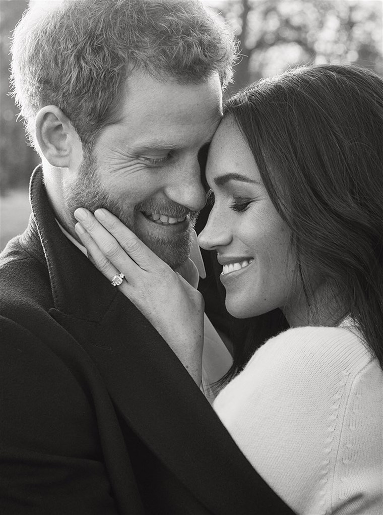 A OFFICIAL ENGAGEMENT PHOTOGRAPHS OF PRINCE HARRY AND MS. MEGHAN MARKLE