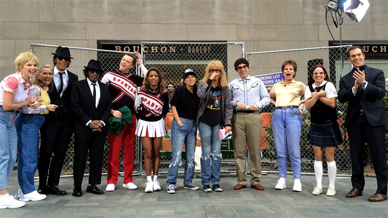 De whole TODAY gang dresses up as famous