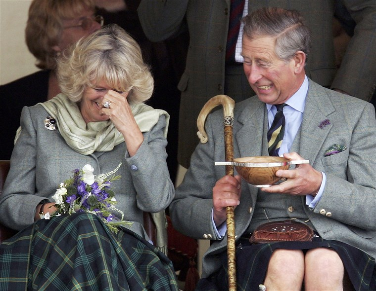 Prins Charles, the Prince of Wales, and his wife Camilla
