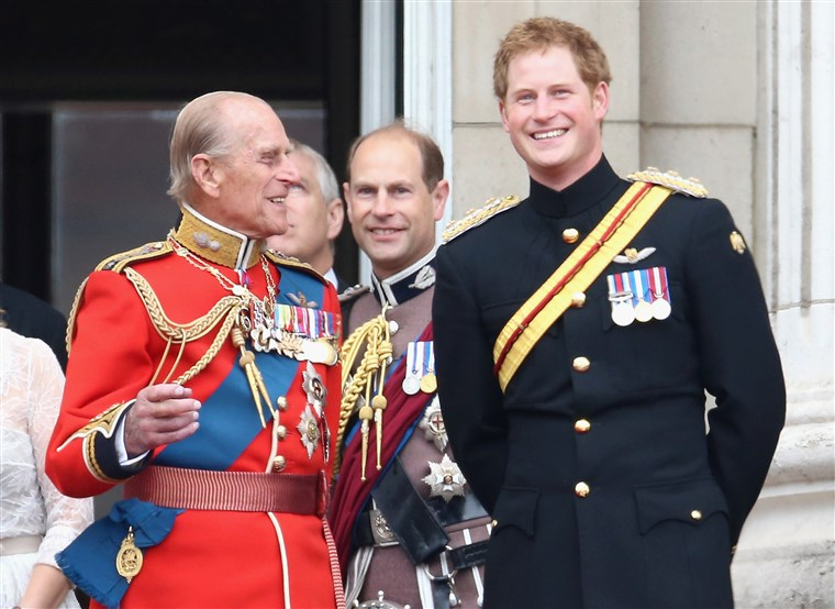 Książę Harry and Prince Philip