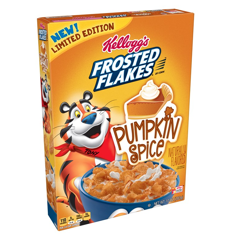 Kellogg's Pumpkin Spice Frosted Flakes