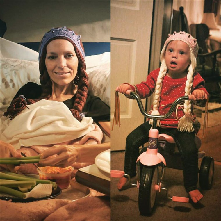 Joey Feek with daughter Indiana