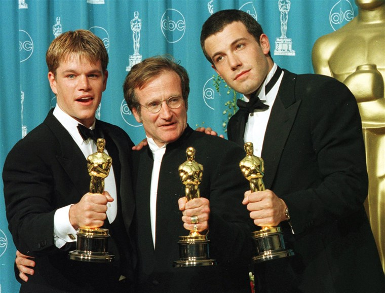 Beeld: Matt Damon, Ben Affleck, Robin Williams
