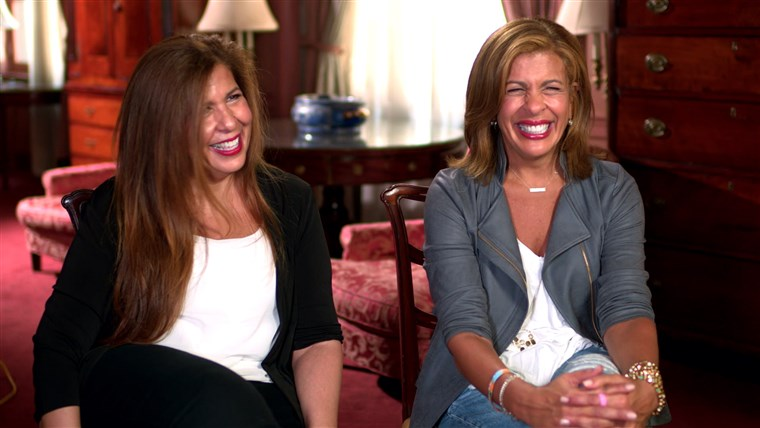 Savana and Hoda reveal how their sisters helped them through difficult times