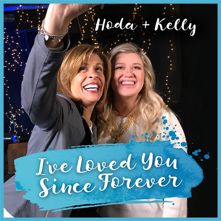kelly Clarkson recorded a song and video that ties in with Hoda's new book