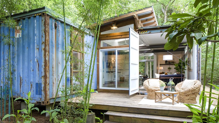 Container Home Studio & Guest House, Savannah, Ga