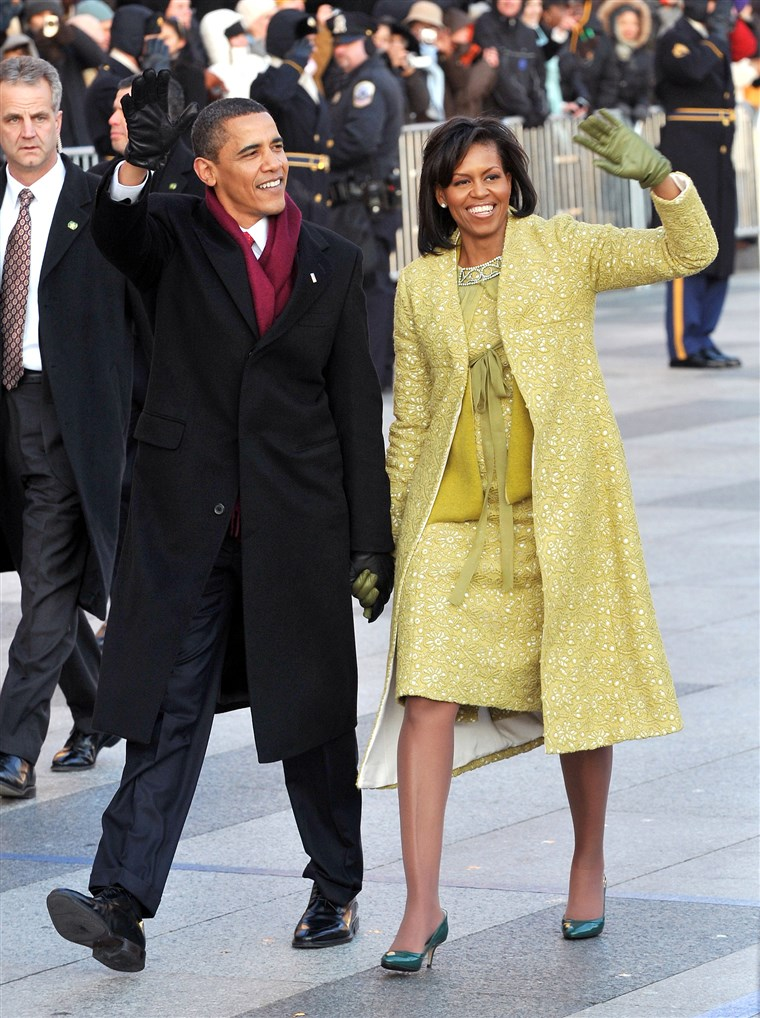 Michelle Obama inauguration dress 2009