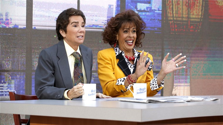 Kathie Lee Gifford and Hoda are Kathie Lee and Regis