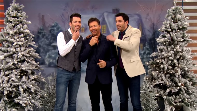 Connick Brothers' Holiday Card with the PROPERTY bROS