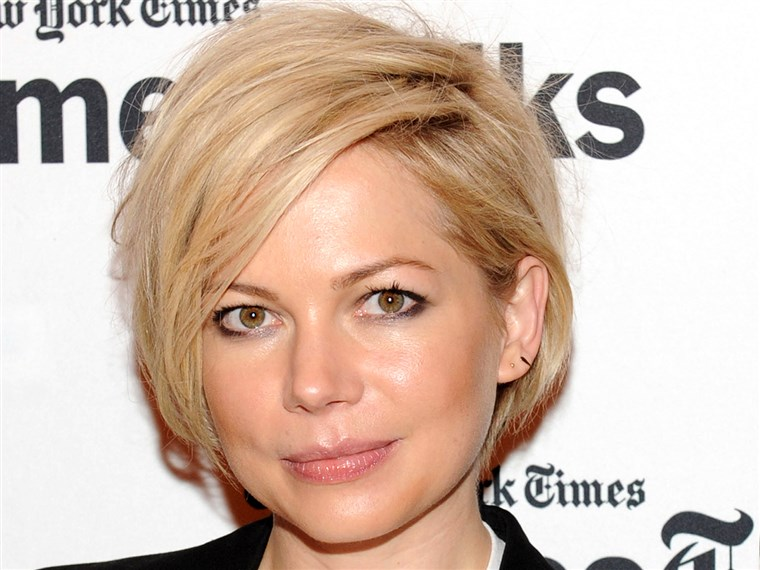 Schattig short hairstyles: Michelle Williams