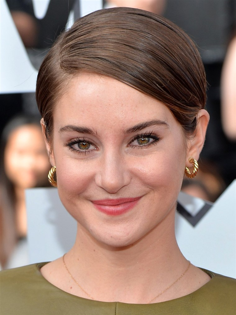 Shailene Woodley, short hair