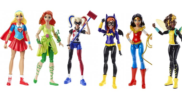 Target is launching a collection of action figures inspired by female superheroes and villains.