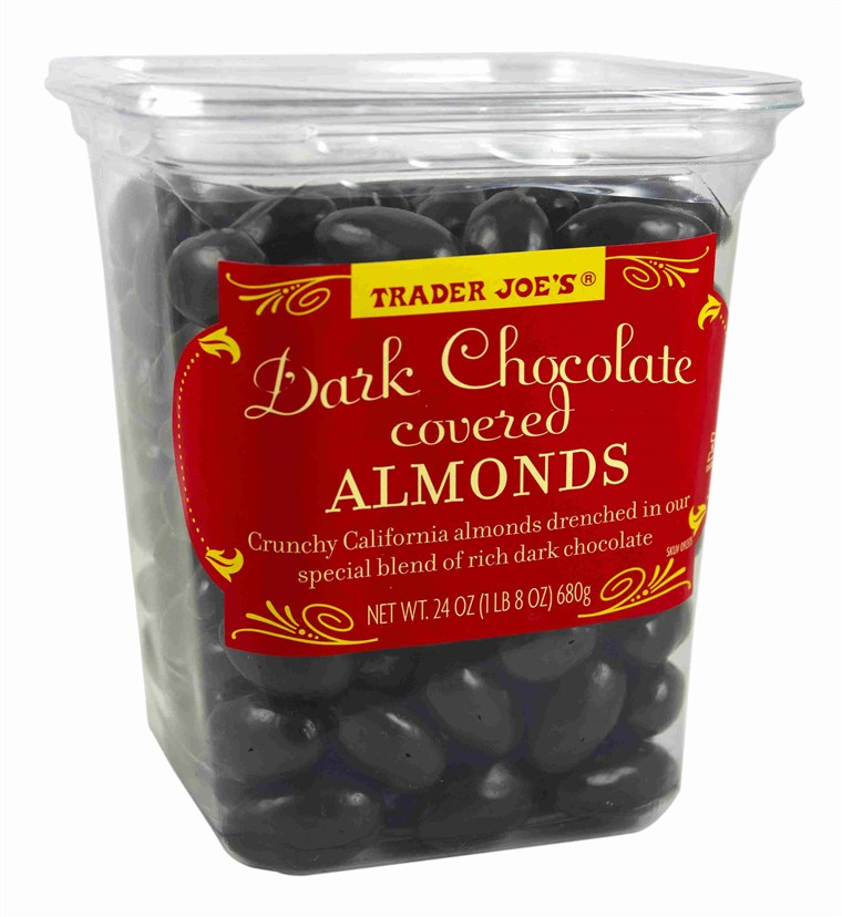Næringsdrivende Joe's Dark Chocolate Covered Almonds