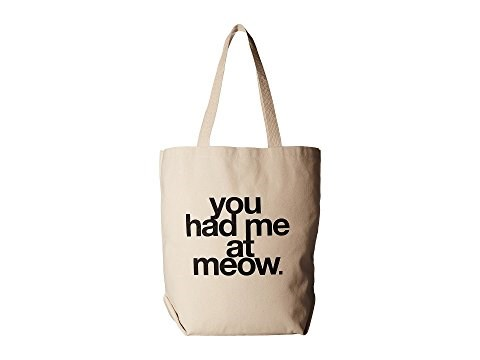 Dogeared You Had Me At Meow Tote