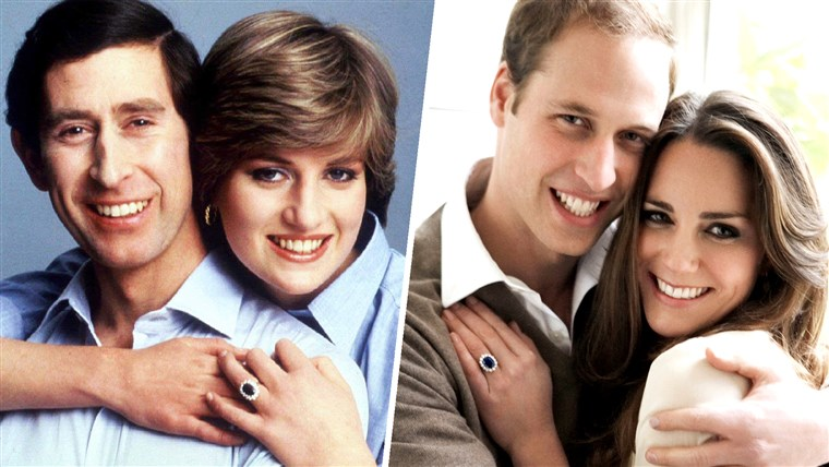 Principe William proposed to Kate Middleton with the engagement ring that belonged to his mother.