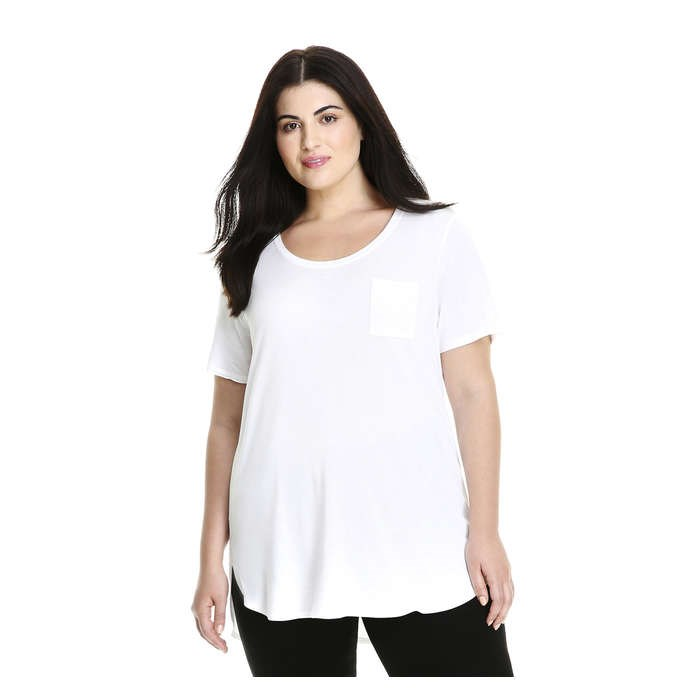 Joe Fresh Women+ Relaxed Boyfriend Tee