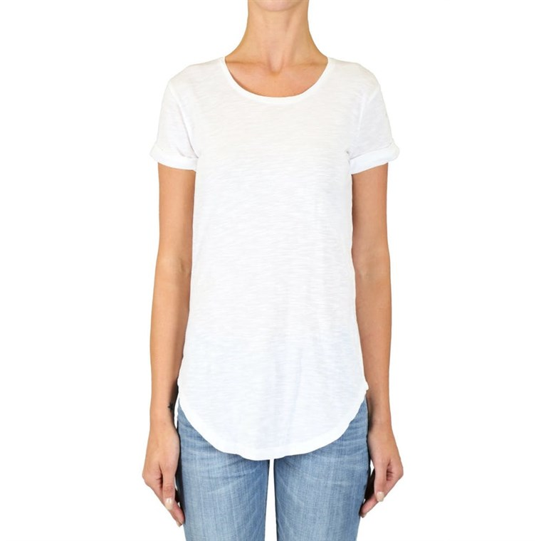 Zwart Orchid Denim Short Sleeve Tee
