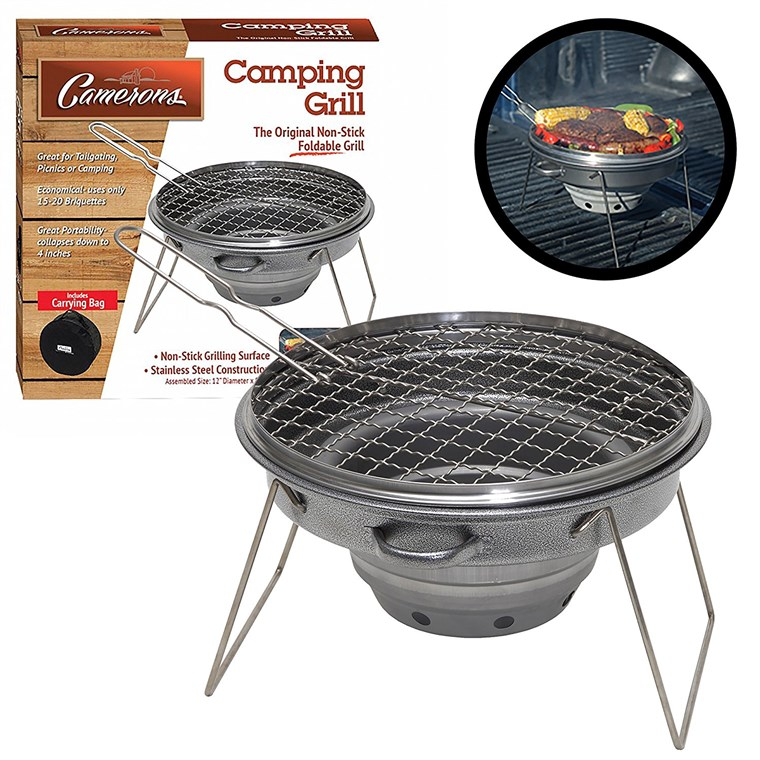Camerons Portable Outdoor Tailgater Grill