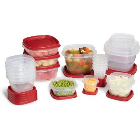 Rubbermaid easyfindlid containers