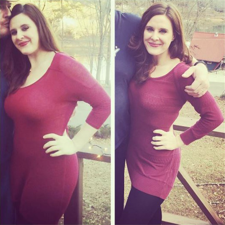 Lindsay Tigar before and after weight loss