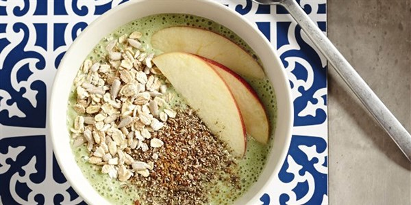 Green Banana Smoothie Bowl