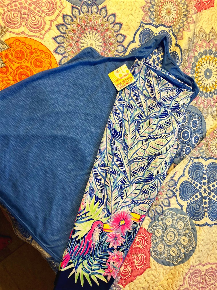 Quando my Lilly Pulitzer Luxletic Activewear leggings came in the mail, I could hardly wait to try them on.